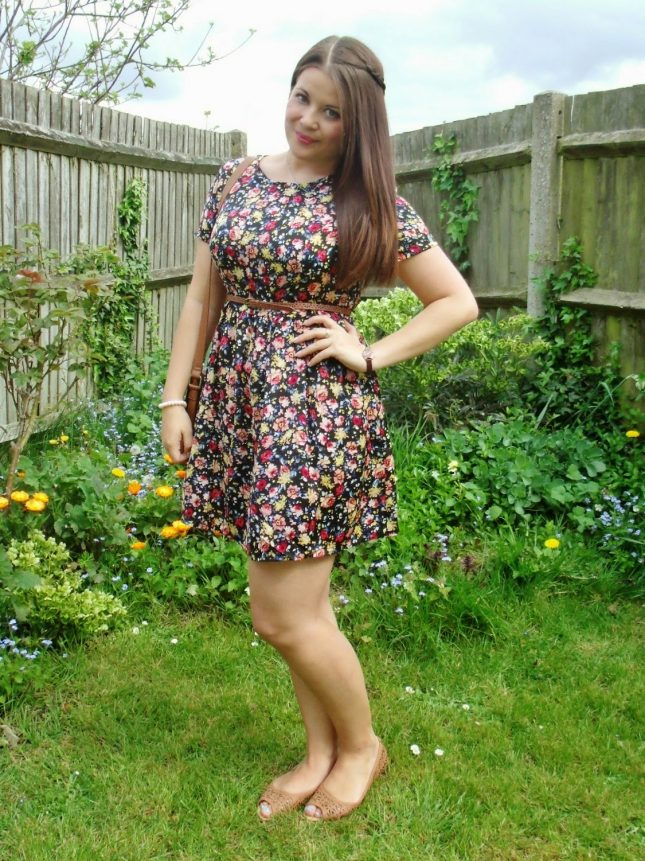Floral Smock Dress & Easter with Family ♥