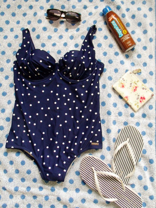Polka Dot Swimming Costume ♥