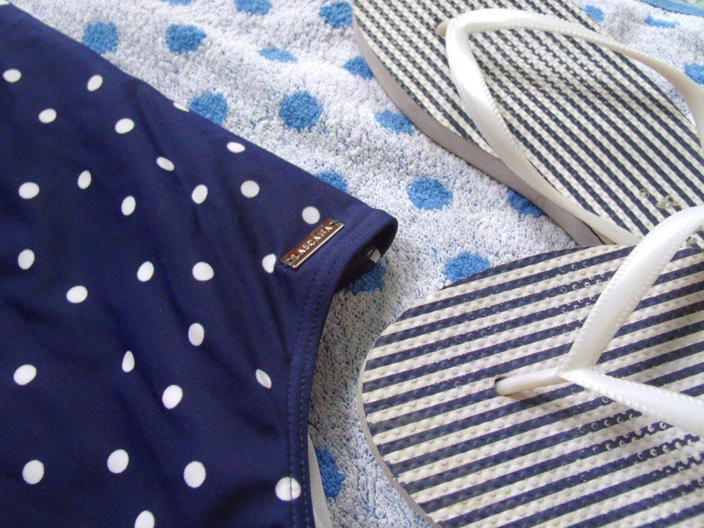 Polka Dot Swimming Costume ♥
