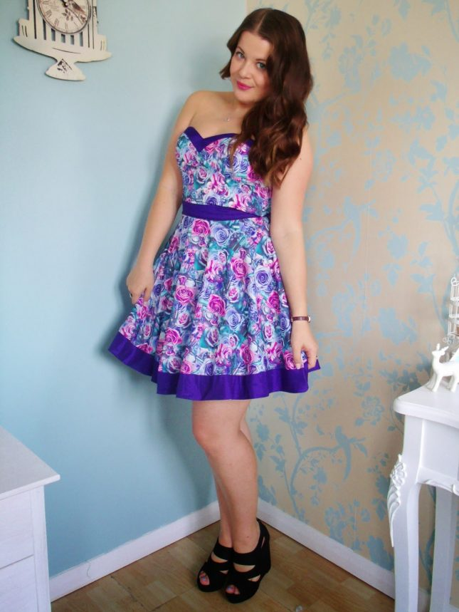 Chi Chi Tilly Dress + HK Quad Weft ♥