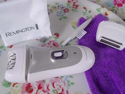 Giveaway: Remington Smooth & Silky Epilator ♥