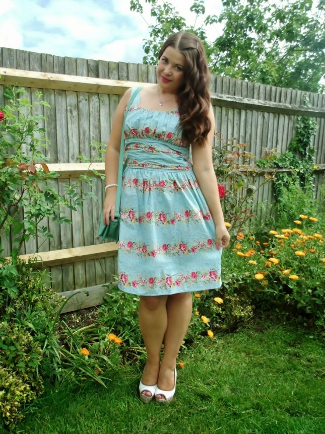 Floral Print Voodoo Vixen Dress ♥
