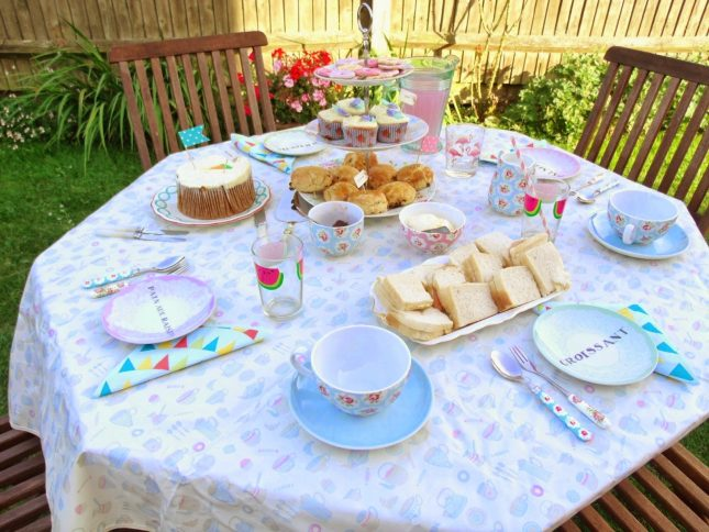 Pre-Birthday Tea Party ♥