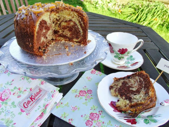 Waitrose Great British Garden Party – My Chocolate Orange Cake ♥