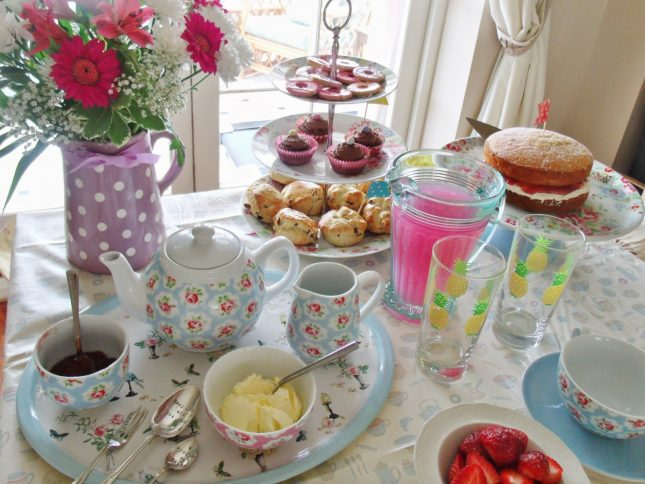 My Cath Kidston Tea Party ♥
