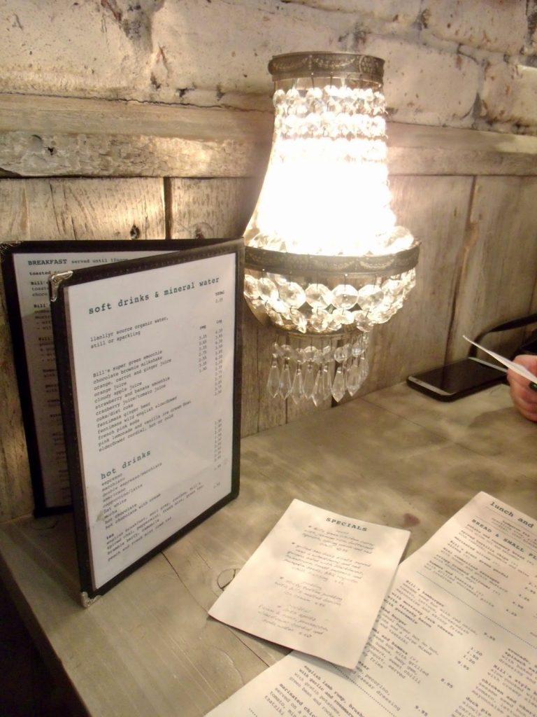 Review: Bill's Restaurant, Manchester