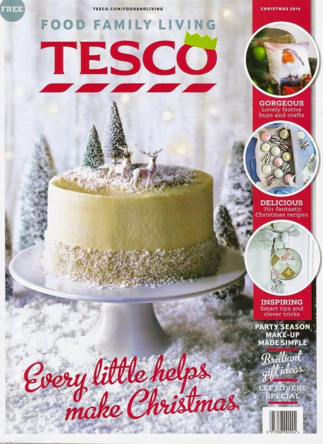 Festive Food & Home Ideas from Tesco Living Magazine ♥