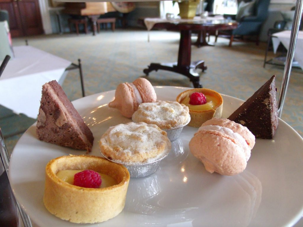 review of afternoon tea at Ettington Park Hotel