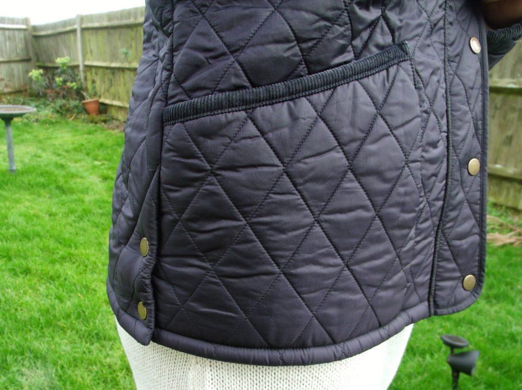 pocket Barbour Liddesdale Quilted Jacket