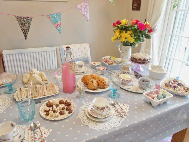 Vintage Easter Tea Party