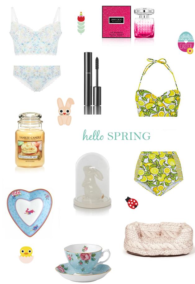 Spring Wishlist ♥