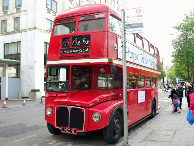 BB Bakery Afternoon Tea London Bus