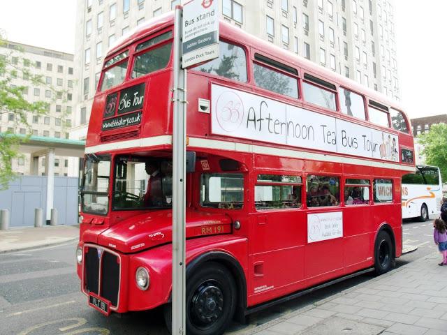 BB Bakery Afternoon Tea London Bus