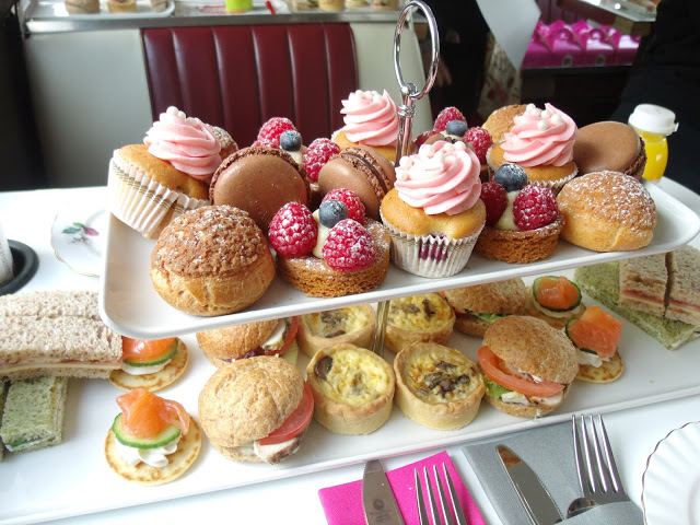 BB Bakery Afternoon tea