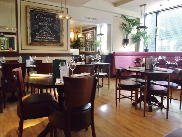 Browns Brasserie and Bar review
