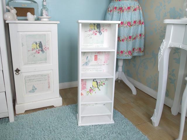 DIY: £1 Wooden Shelf Upcycle ♥