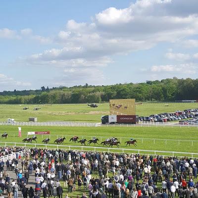 Race Day at Newbury Racecourse ♥