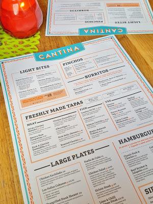 Revolucion De Cuba menu