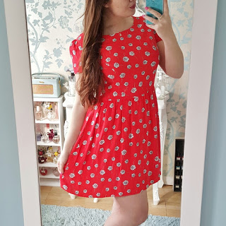 money saving tips - charity shop dress