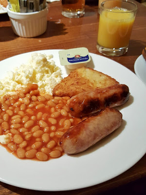 Birmingham Marriott Hotel breakfast