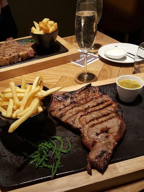 Bottomless Brunch steak at Bar + Block