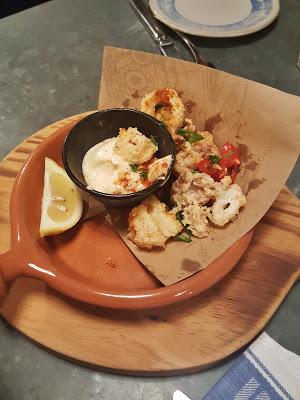 Jamie's Italian Restaurant calamari