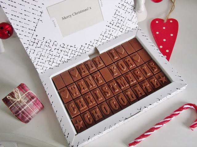 personalised chocolate stocking filler ideas