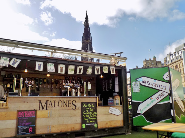 Malones Irish bar in Edinburgh