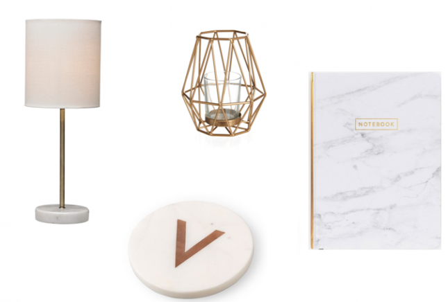 Wishlist: Marble & Copper Homeware Accessories *