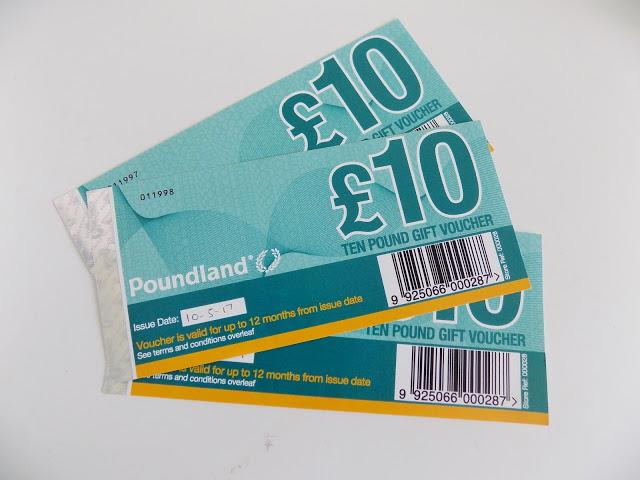 poundland vouchers