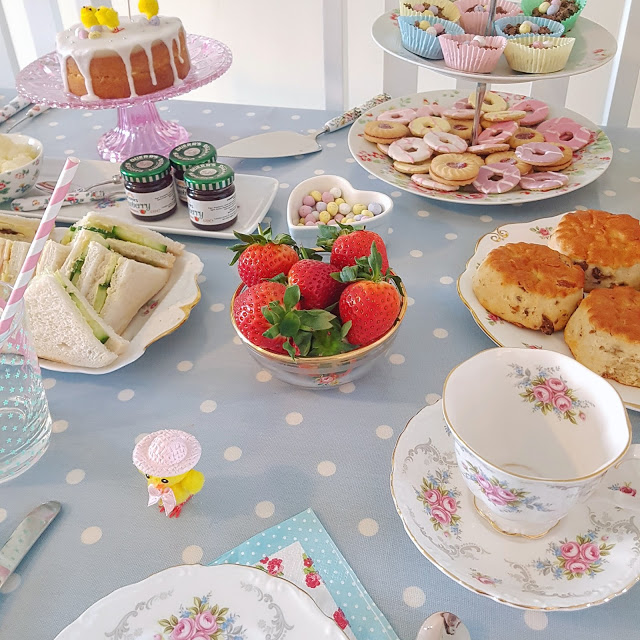 Easter Craft-ernoon Tea Party