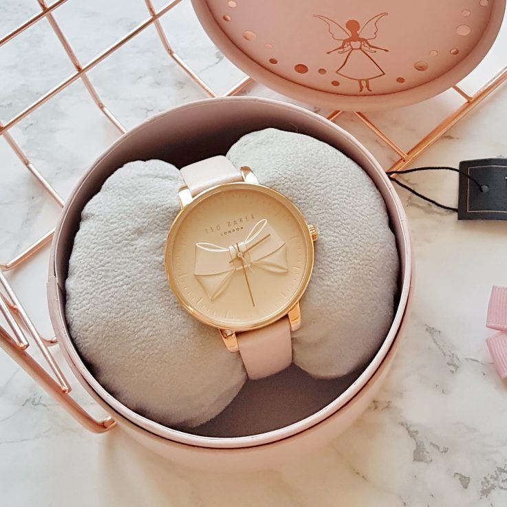 Ted Baker Rose Gold Bow Watch