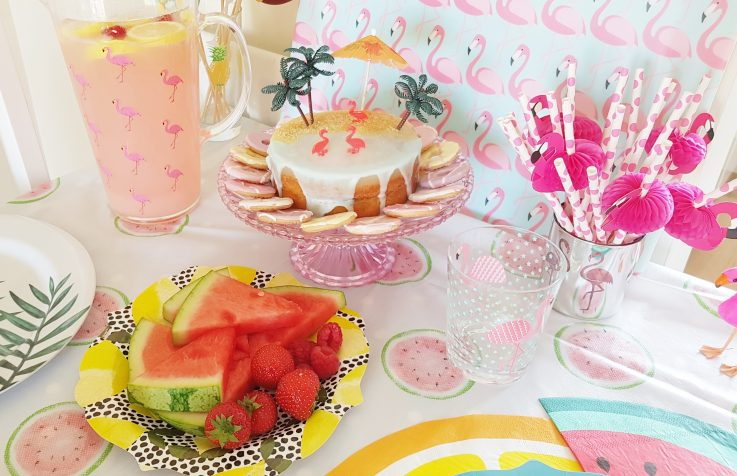 My Tropical Tea Party
