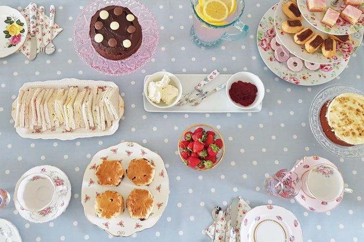 host your own tea party at home