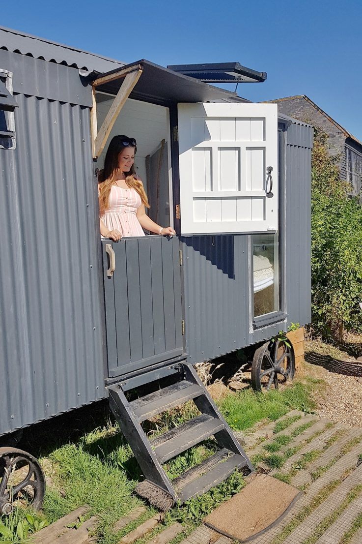 Travel: Rustic Plankbridge Shepherd's Hut Retreat