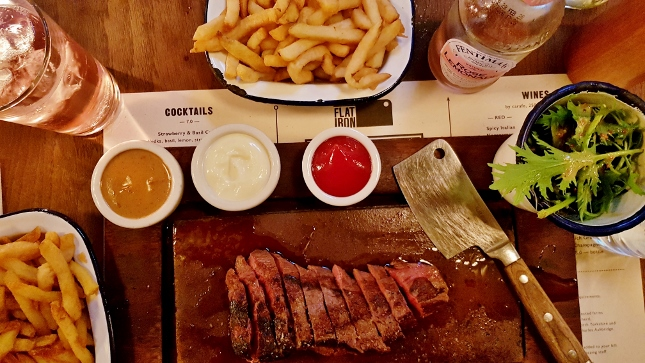 Review: Flat Iron Steak, Shoreditch