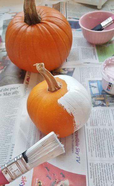 DIY: Paint Your Own Pumpkins
