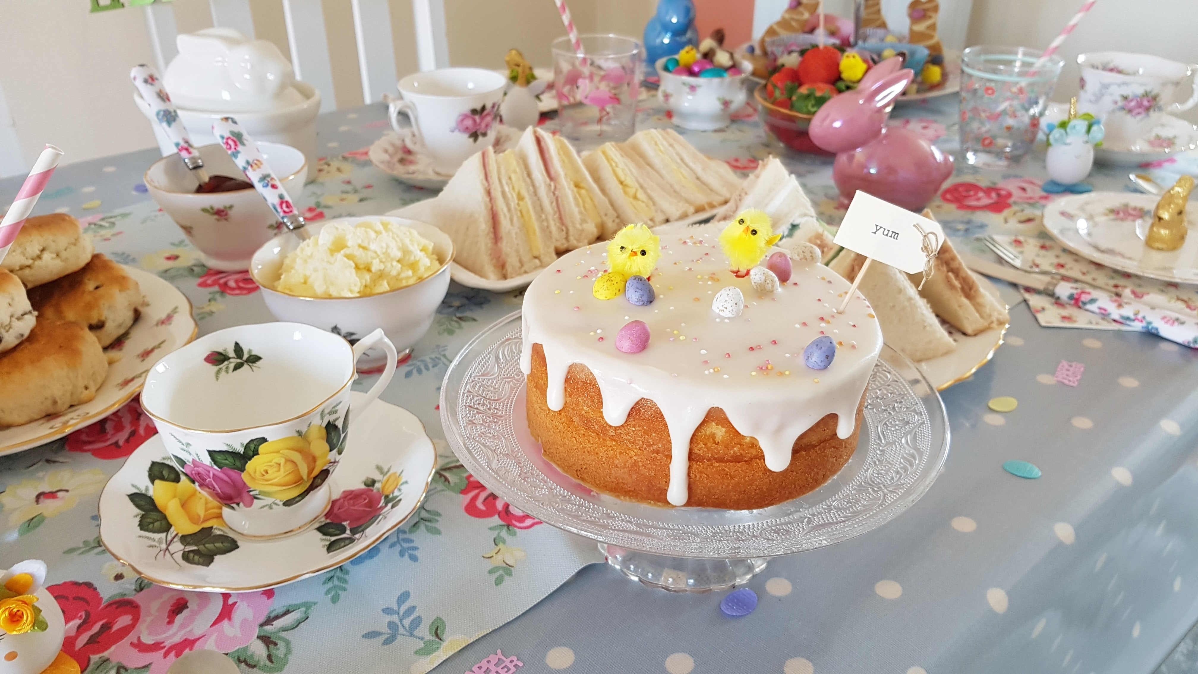 My Easter Afternoon Tea Party