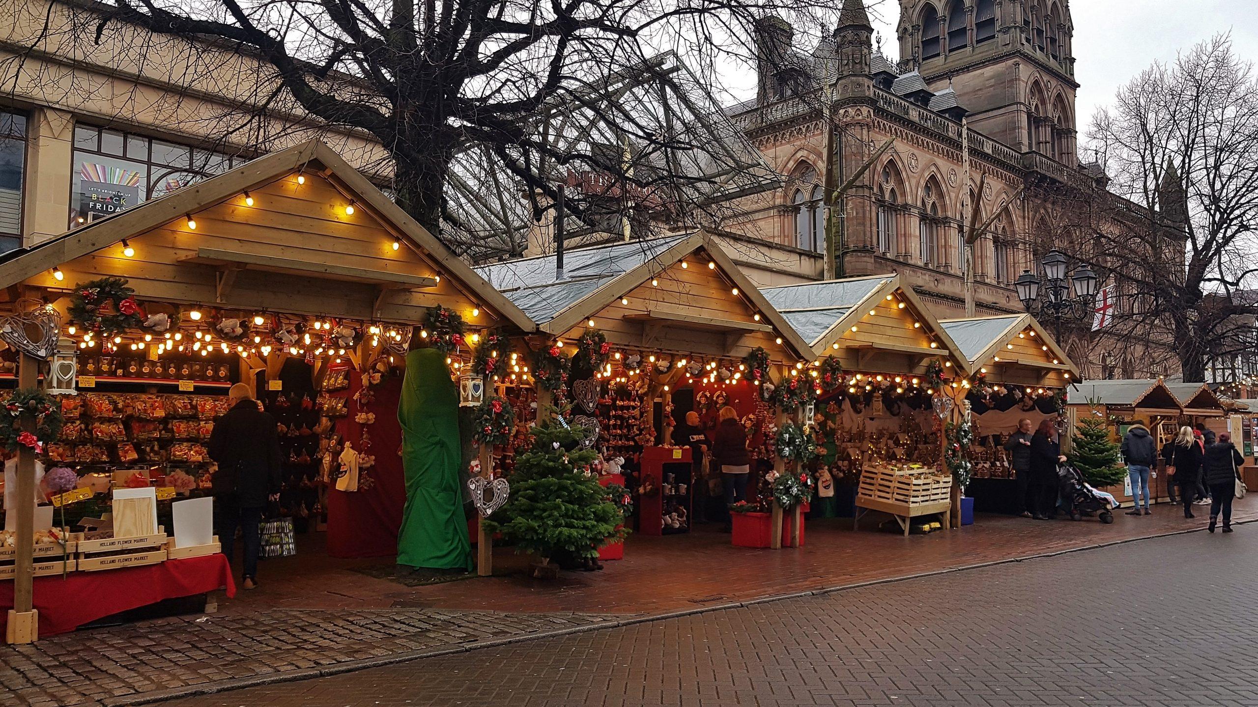 Feeling Festive at Chester Christmas Market