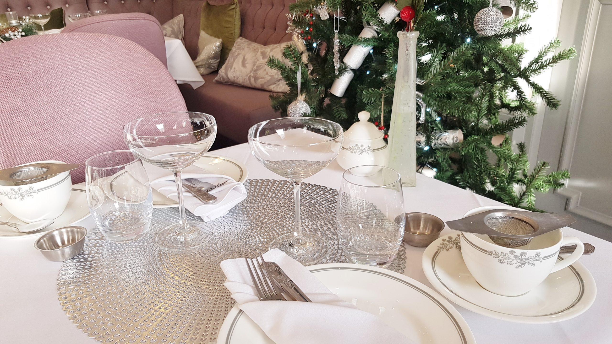 Festive Afternoon Tea at The Laura Ashley Tea Room, Burnham Beeches