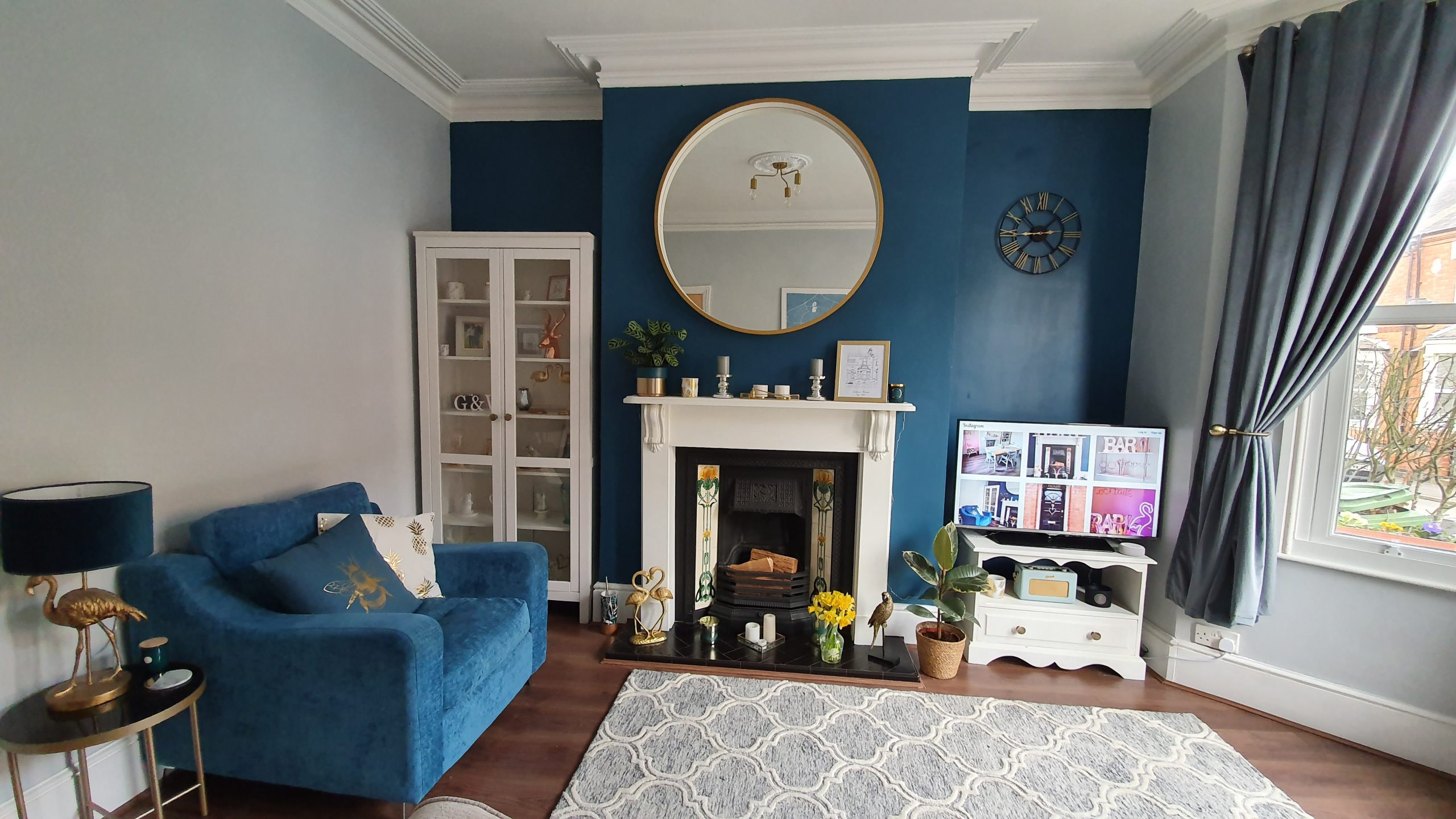 Our Victorian Home: The Living Room