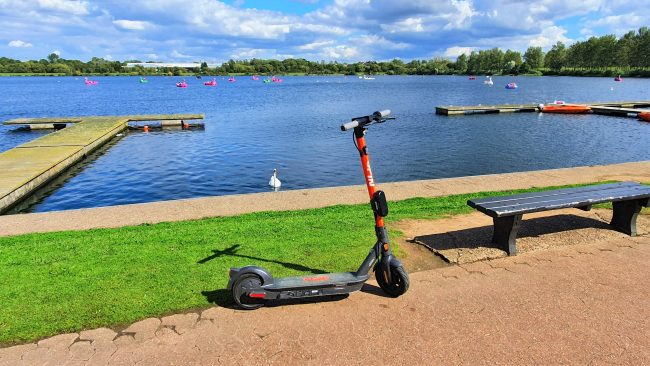Review: Spin E-scooters in Milton Keynes